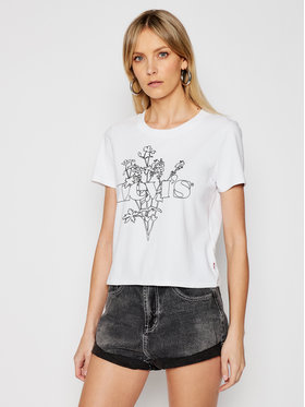 Levi's® Levi's® T-shirt 29674-0140 Bijela Regular Fit