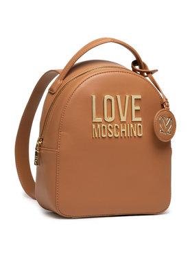 LOVE MOSCHINO LOVE MOSCHINO Ruksak JC4101PP1CLJ020A Hnedá