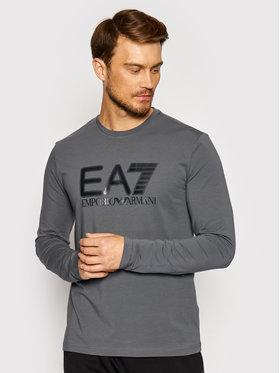 EA7 Emporio Armani EA7 Emporio Armani Тениска с дълъг ръкав 6KPT64 PJ03Z 1977 Сив Regular Fit