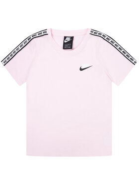 NIKE NIKE T-Shirt Essential AV8390 Różowy Regular Fit