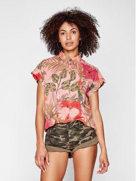 Desigual Desigual Marškiniai Rous 21SWCN02 Rožinė Regular Fit