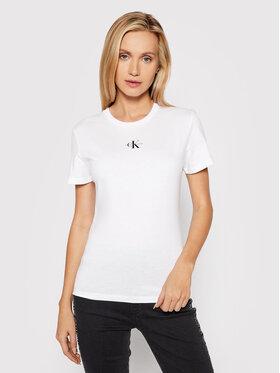 Calvin Klein Jeans Calvin Klein Jeans Футболка J20J217314 Білий Slim Fit