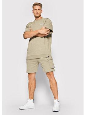 Ellesse Ellesse Pantaloncini sportivi Basta SHJ11947 Verde Regular Fit