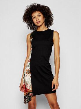 Desigual Desigual Každodenní šaty Thaiyu 21SWVK28 Černá regular_fit