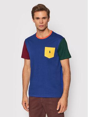 Polo Ralph Lauren Polo Ralph Lauren T-shirt 710849543001 Bleu marine Custom Slim Fit