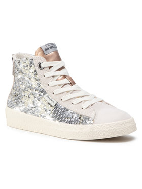 Pepe Jeans Pepe Jeans Sneakers Portobello Girl PGS30409 Argintiu