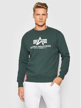 Alpha Industries Alpha Industries Sweatshirt Basic 178302 Vert Regular Fit