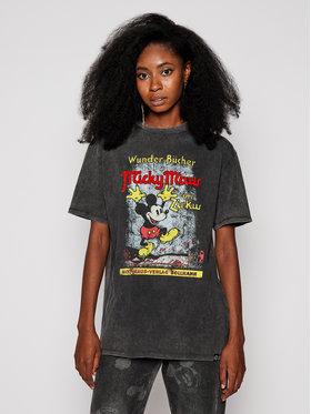 Desigual Desigual Marškinėliai DISNEY Vintage 20WWTKCF Pilka Regular Fit