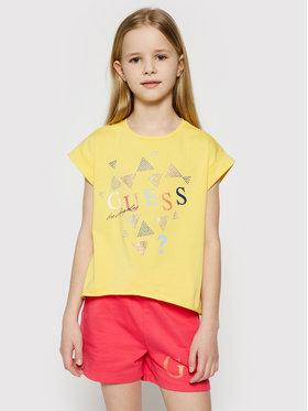 Guess Guess T-shirt J1GI05 K6YW1 Giallo Regular Fit