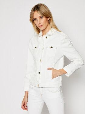 Pinko Pinko Jeansová bunda Betty 20211 PDEN 1J10N9 Y6VT Bílá Regular Fit
