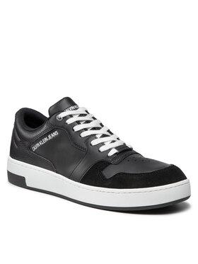 Calvin Klein Jeans Calvin Klein Jeans Sneakersy Cupsole Laceup Basket YM0YM00286 Černá