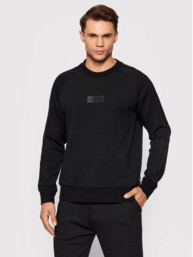 Calvin Klein Calvin Klein Majica dugih rukava Modern Tape Sweatshirt K10K107631 Crna Regular Fit