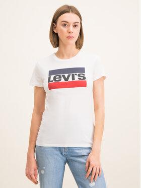 Levi's® Levi's® T-Shirt The Perfect Graphic Tee 17369-0297 Bílá Regular Fit