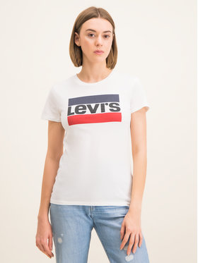 Levi's® Levi's® Тишърт The Perfect Graphic Tee 17369-0297 Бял Regular Fit