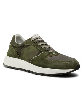 Crime London Crime London Sneakersy Extra Light Runner 11202AA3.83 Zielony