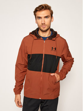 Under Armour Under Armour Giacca di transizione Ua Sportstyle Wind 1329297 Bordeaux Loose Fit