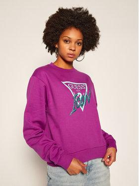 Guess Guess Bluză W0BQ00 K68I0 Violet Regular Fit