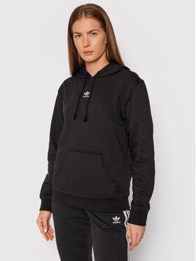 adidas adidas Bluza adicolor Essentials Fleece H34725 Czarny Regular Fit