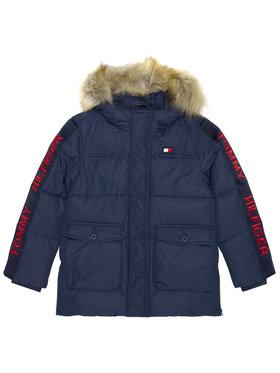 Tommy Hilfiger Tommy Hilfiger Vatovaná bunda Arctic Tape KB0KB05995 M Tmavomodrá Regular Fit