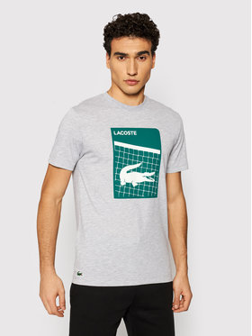Lacoste Lacoste T-shirt TH9654 Gris Regular Fit