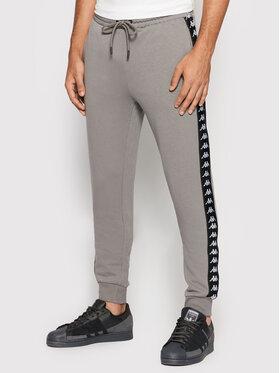 Kappa Kappa Teplákové nohavice Jenner 310014 Sivá Regular Fit
