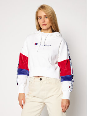 Champion Champion Felpa Rochester 113338 Bianco Custom Fit