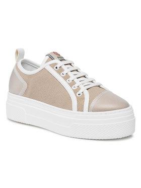 Pollini Pollini Sneakersy SA15075G1CXG310B Brązowy
