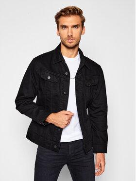 Lee Lee Kurtka jeansowa Rider L89RMQ47 Czarny Slim Fit