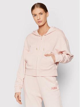 Puma Puma Sweatshirt Full-Zip Tr 589521 Rosa Relaxed Fit
