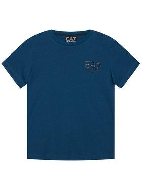 EA7 Emporio Armani EA7 Emporio Armani T-shirt 6HBT51 BJ02Z 1546 Bleu marine Regular Fit
