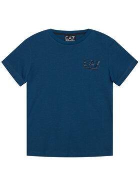 EA7 Emporio Armani EA7 Emporio Armani T-shirt 6HBT51 BJ02Z 1546 Blu scuro Regular Fit