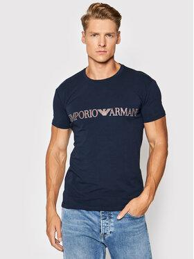 Emporio Armani Underwear Emporio Armani Underwear Tričko 111035 1A516 00135 Tmavomodrá Regular Fit