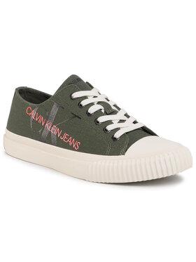 Calvin Klein Jeans Calvin Klein Jeans Sneakers aus Stoff Idol B4S0702 Grün