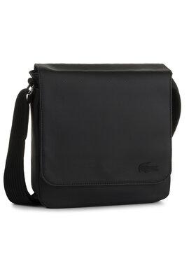 Lacoste Lacoste Sacoche Flap Crossover Bag NH2341HC Noir
