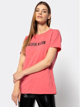 Calvin Klein Performance Calvin Klein Performance Тишърт Logo Gym 00GWF8K139 Червен Relaxed Fit