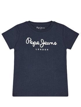 Pepe Jeans Pepe Jeans Marškinėliai PB501228 Tamsiai mėlyna Regular Fit