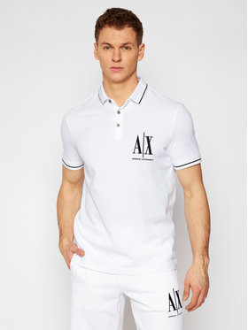 Armani Exchange Armani Exchange Polo 8NZFPA Z8M5Z 1100 Bianco Regular Fit