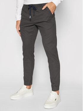 Tommy Jeans Tommy Jeans Joggers kalhoty Scanton Dobby DM0DM11032 Šedá Regular Fit