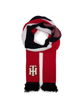 TOMMY HILFIGER TOMMY HILFIGER Šalis Th College Scarf AW0AW07209 Raudona