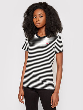 Levi's® Levi's® T-Shirt The Perfect 39185-0087 Μαύρο Regular Fit