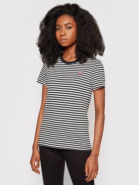 Levi's® Levi's® T-Shirt The Perfect 39185-0087 Schwarz Regular Fit