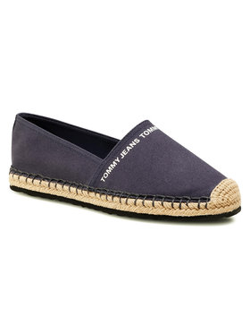 Tommy Jeans Tommy Jeans Espadrilles Essential Tommy Jeans Espadrille EN0EN01271 Sötétkék