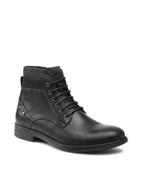 Geox Geox Μπότες U Jaylon C U16Y7C 000CL C9999 Μαύρο