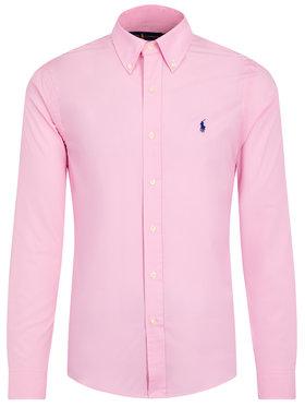 Polo Ralph Lauren Polo Ralph Lauren Košeľa 710737080 Ružová Slim Fit