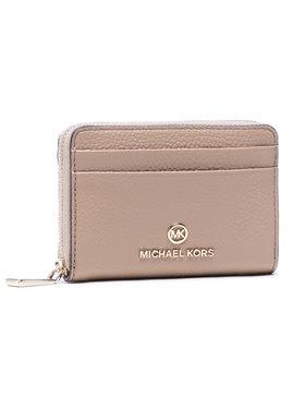 MICHAEL Michael Kors MICHAEL Michael Kors Μικρό Πορτοφόλι Γυναικείο Jet Set Charm 34S1LT9Z1L Μπεζ