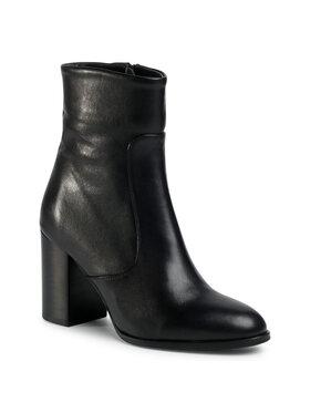 Gino Rossi Gino Rossi Členková obuv 18401 Čierna