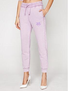Pinko Pinko Teplákové kalhoty Carico PE 21 BLK01 1G1638 Y72Z Fialová Regular Fit