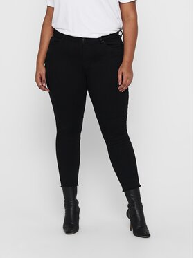 ONLY Carmakoma ONLY Carmakoma Дънки Willy Life 15224615 Черен Skinny Fit
