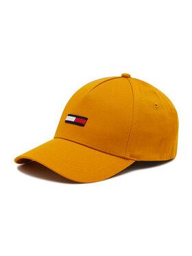 Tommy Jeans Tommy Jeans Czapka z daszkiem Flag Cap AM0AM07524 Żółty