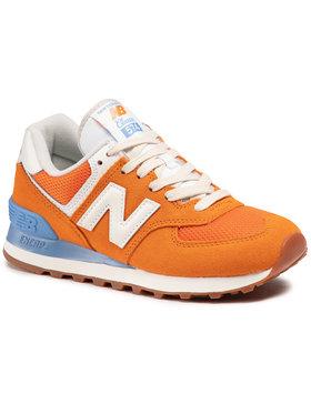 New Balance New Balance Sneakersy WL574VI2 Pomarańczowy